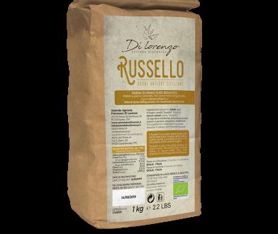 Organic durum wheat flour