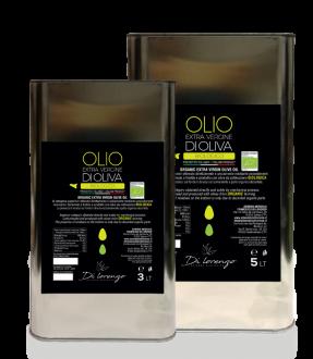 Organic extravirgin olive oil (in tin)